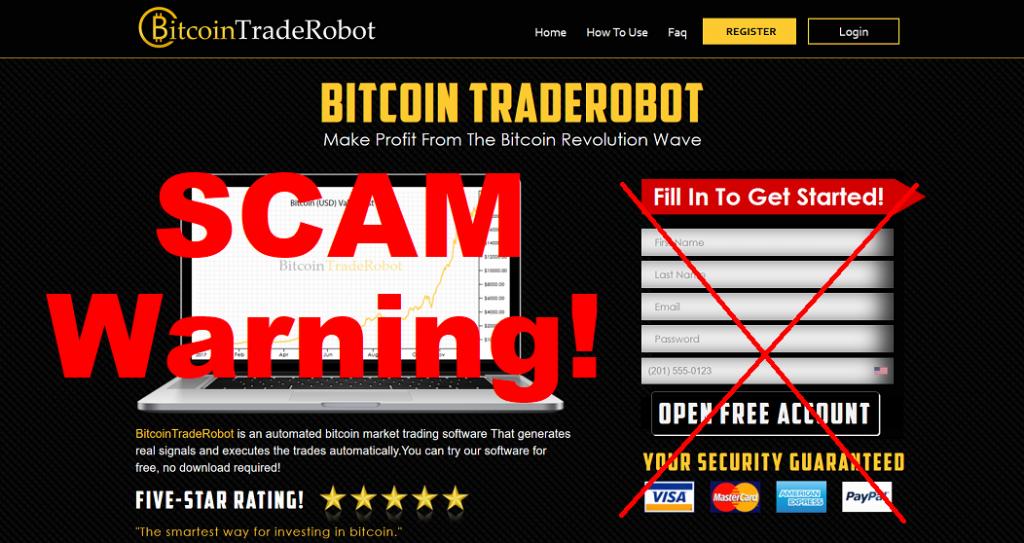 Bitcoin fake trading software scam